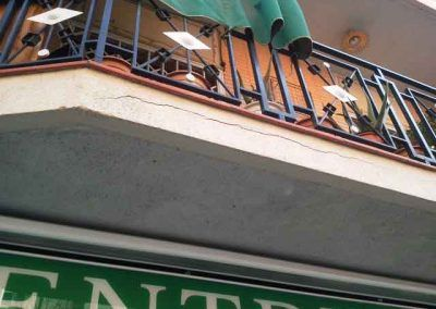 Deficiencia ITE Balcones